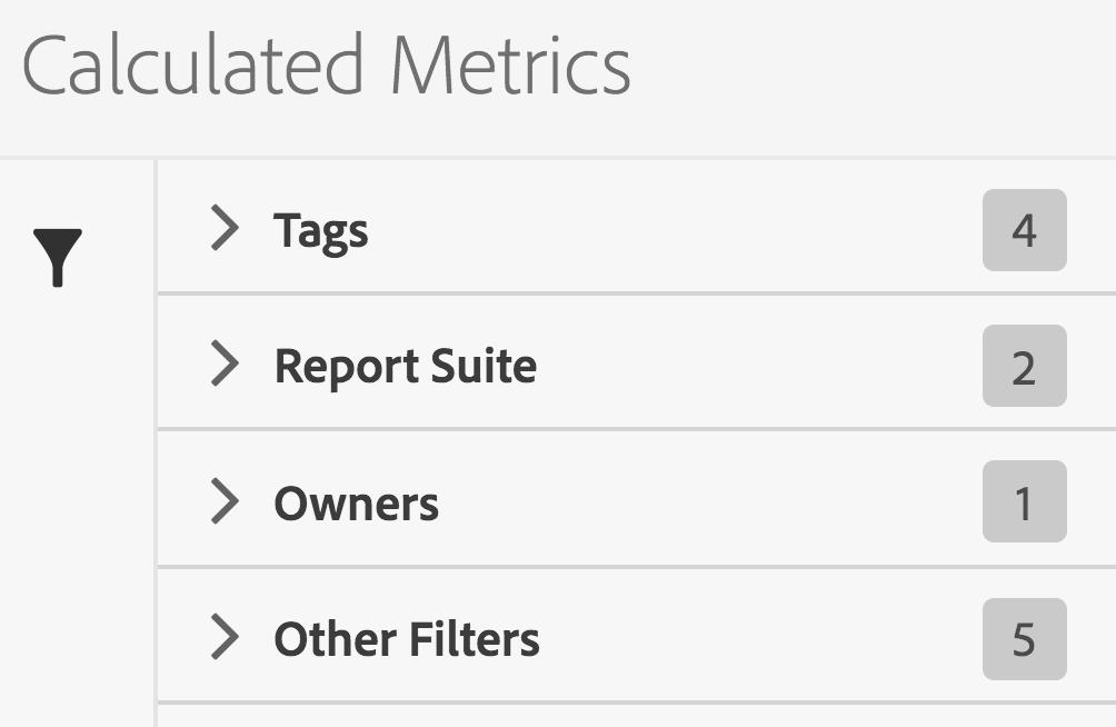 Finding Adobe Analytics Components via Tags - Analytics